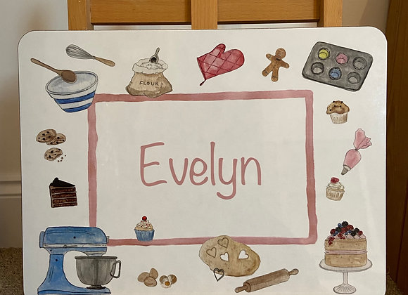 Evelyn Personalised Placemat