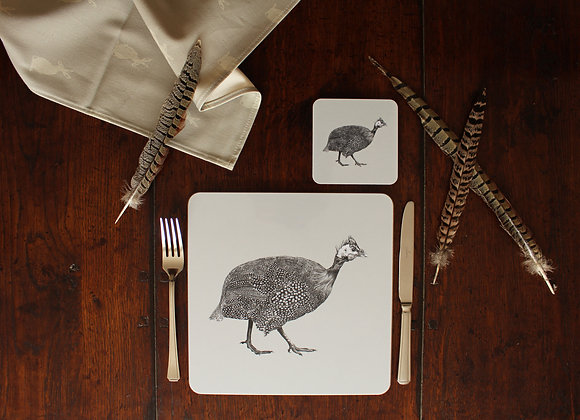 Guinea Fowl Placemats (Trade)