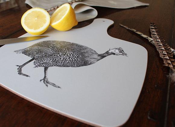 Guinea Fowl Small Chopping Board