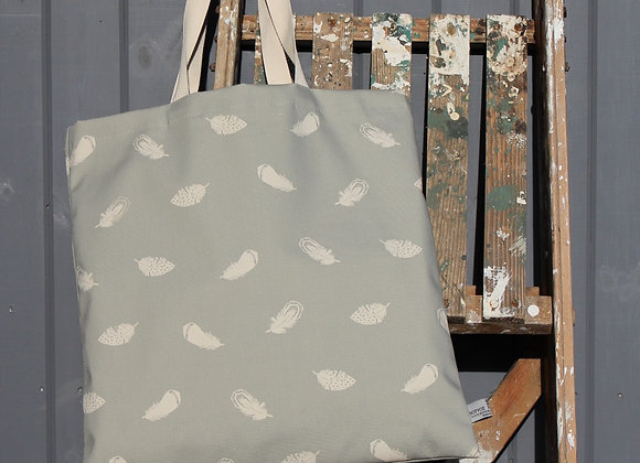 Falling Feathers Canvas Bag