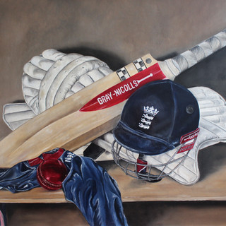 Cricket Still Life
