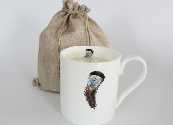 Partridge Feather Candle
