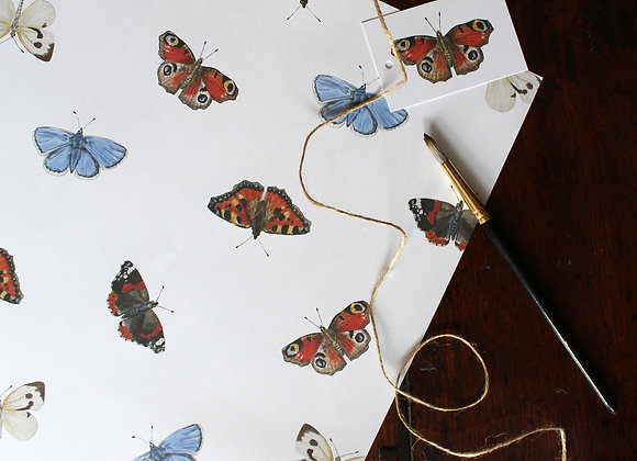 Butterfly Wrapping Paper (Trade)