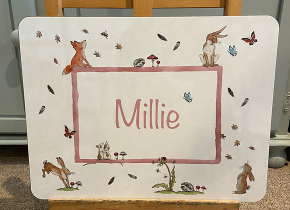 Millie Personalised Placemat