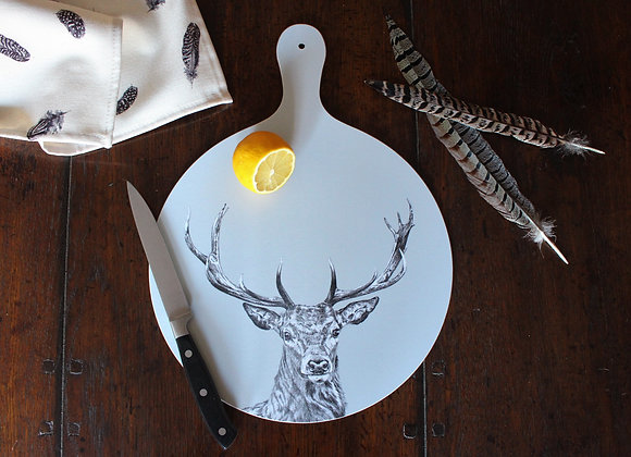 Stag Cheese Board (Trade)