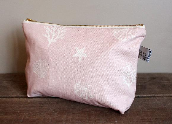Sea Shells Cosmetic Bag (Trade)