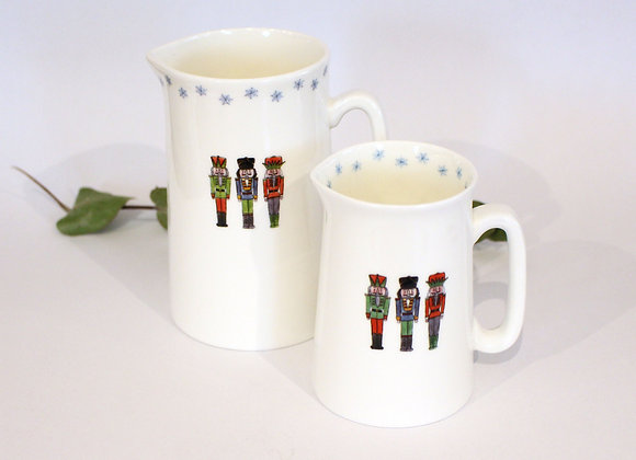 Christmas Nutcracker Jugs