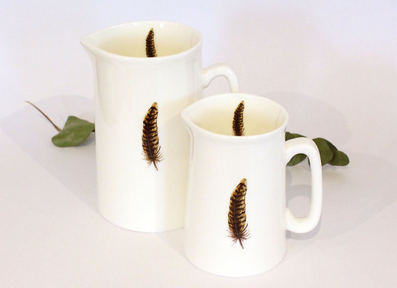 Pheasant Feather Jugs (Trade)