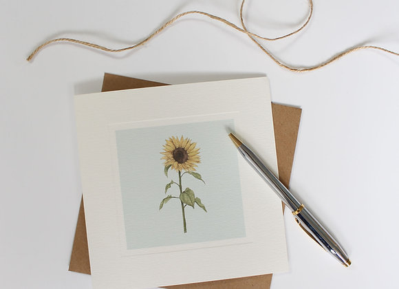 Sunflower Greetings Card (Trade)