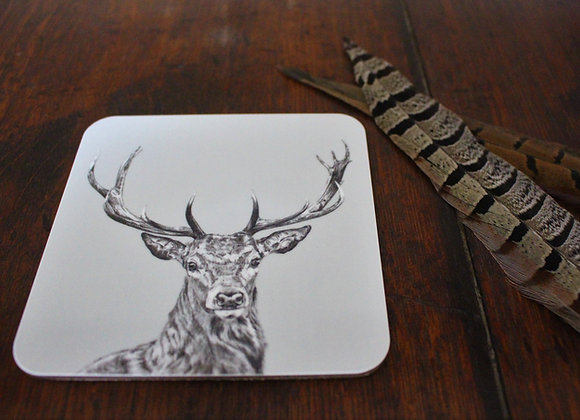 Stag Coasters (Trade)