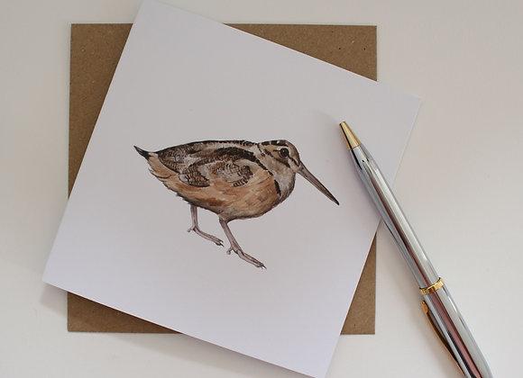 Woodcock Greetings Card (Trade)