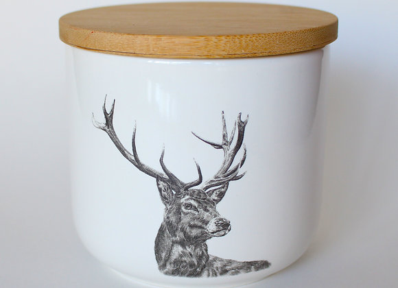 Stag Storage Jar