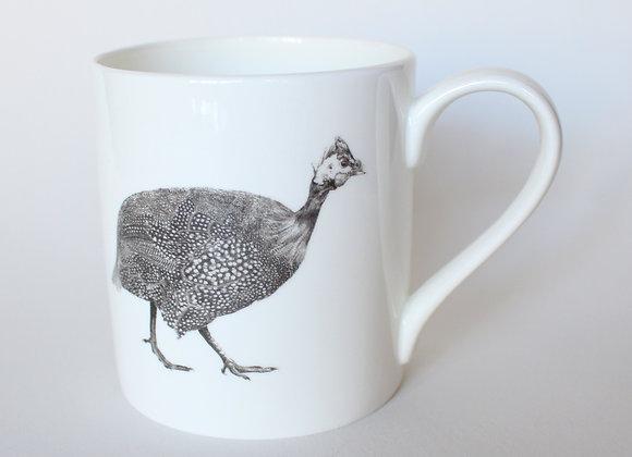 Large Guinea Fowl Mug (Trade)