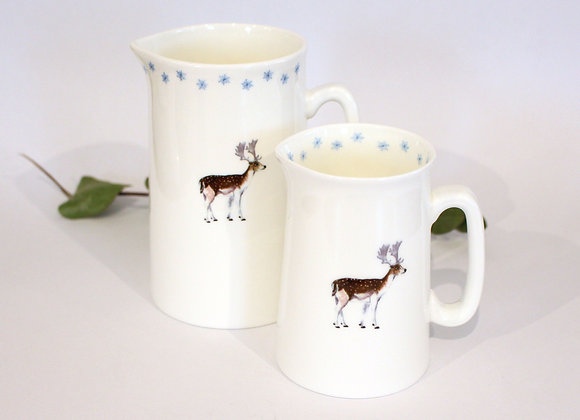 Christmas Deer Jugs