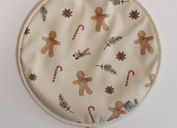 Christmas Gingerbread Men Hob Cover