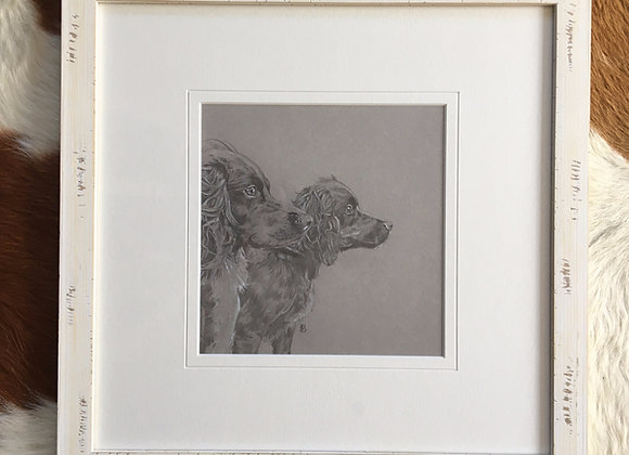 Original Cocker Spaniel Drawing