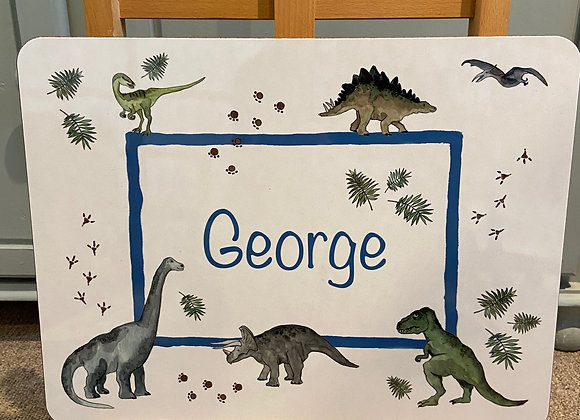George Personalised Placemat