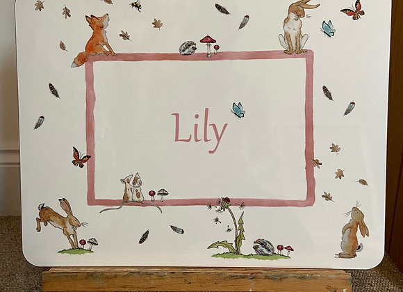 Lily Personalised Placemat
