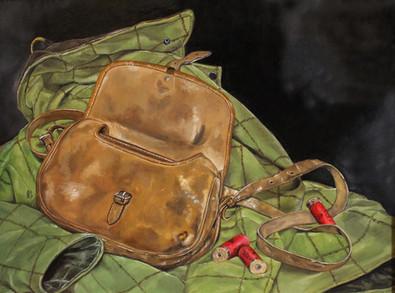 Cartridge Bag, Cartridges and Shooting Coat