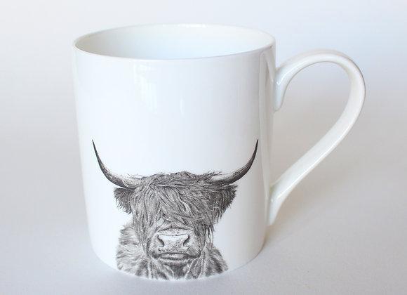 Large Highland Cow Mug