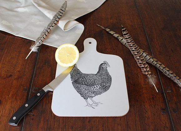 Chicken Small Chopping Board (Trade)