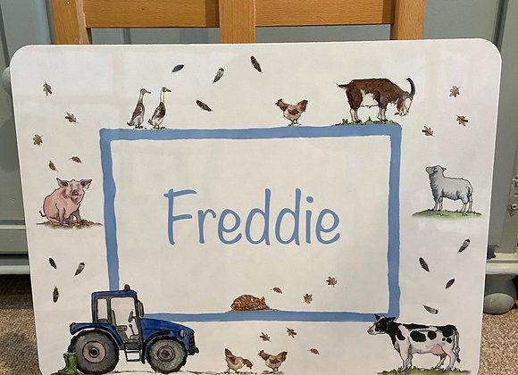 Freddie Personalised Placemat