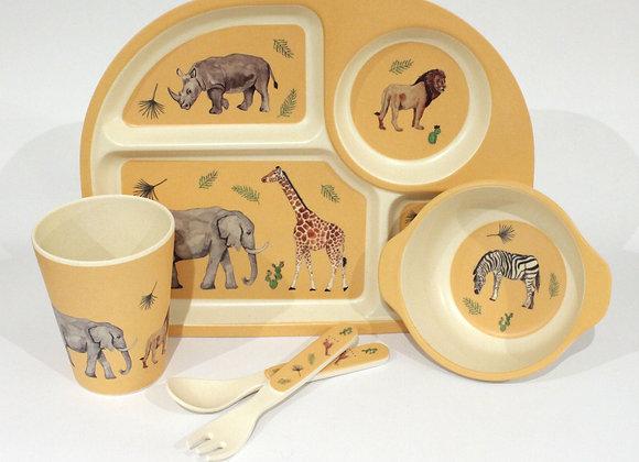 Safari Tableware Set (Trade)