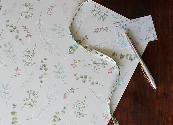 Foliage & Berries Christmas Wrapping Paper (Trade)
