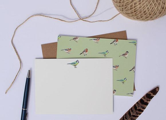 Garden Bird Notelets