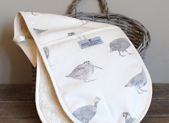 Game Birds Double Oven Gloves