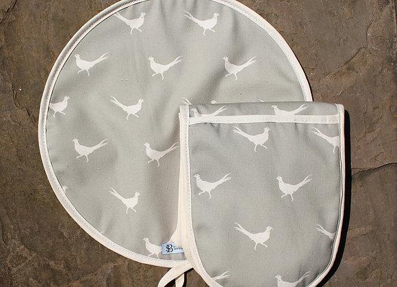 Pheasant Hob Cover