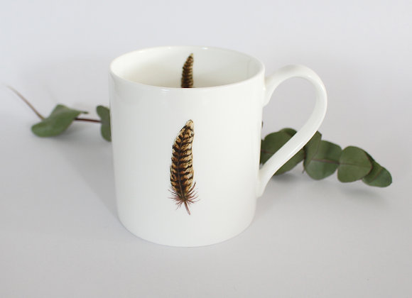 Pheasant Feather Mug (Trade)