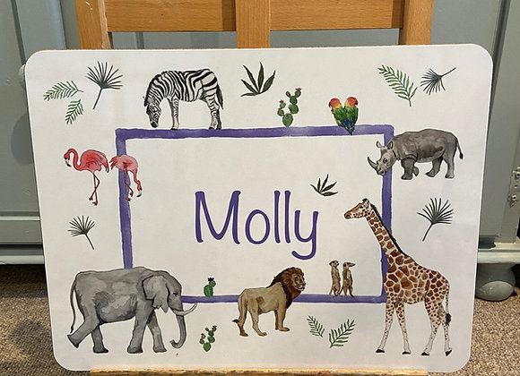 Molly Personalised Placemat
