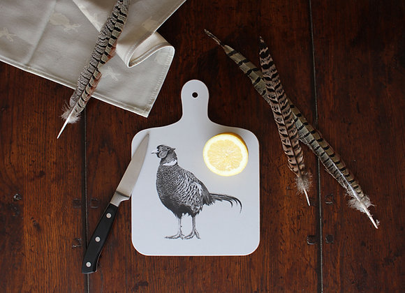 Pheasant Small Chopping Board