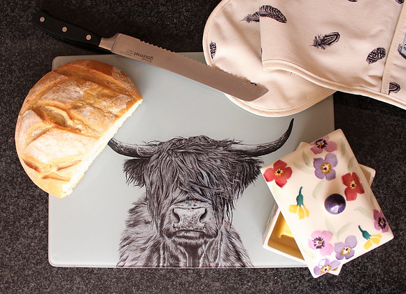 Highland Cow Worktop Saver