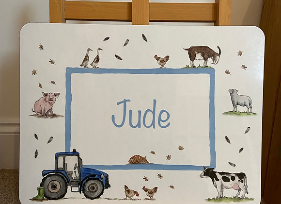 Jude Personalised Placemat