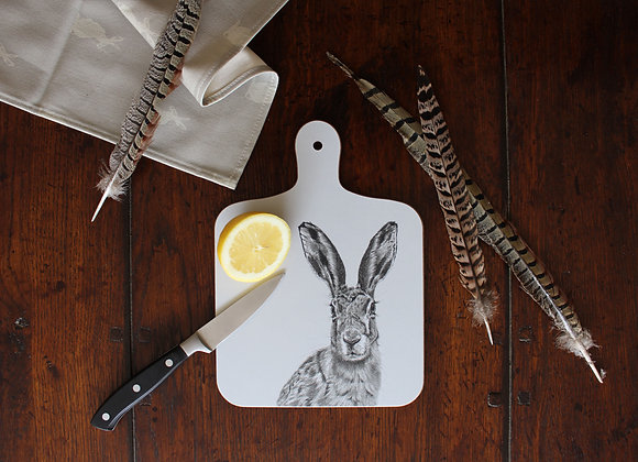Hare Small Chopping Board