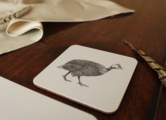Guinea Fowl Coasters (Trade)