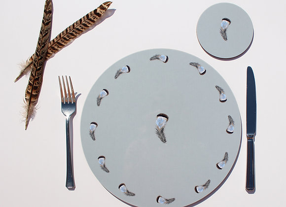 Partridge Feather Placemats