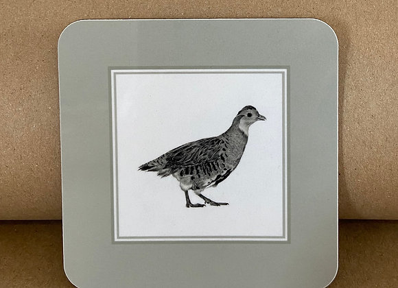 Partridge Coaster