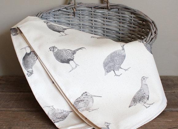 Game Birds Tea Towel (Trade)