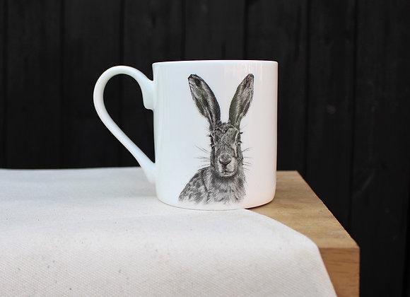 Hare Head Mug