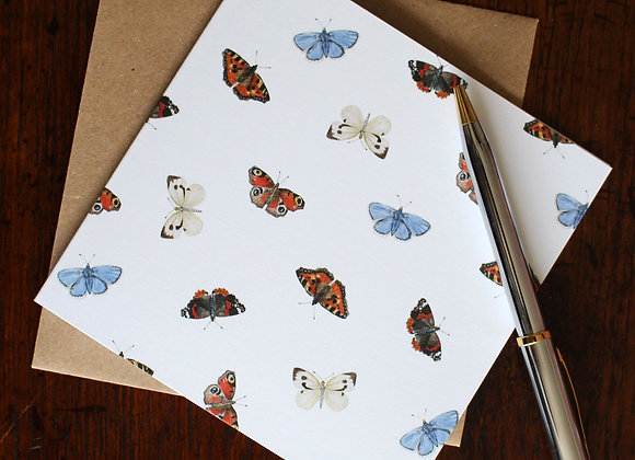 Butterflies Greetings Card (Trade)