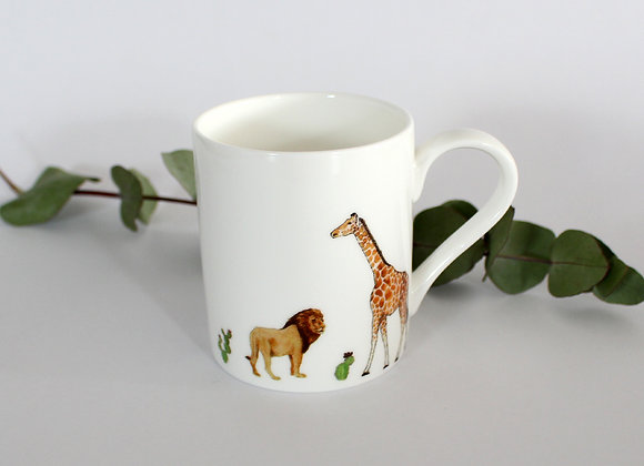 Safari Mini Mug (Trade)