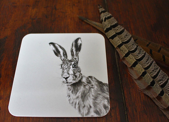Peeping Hare Coaster