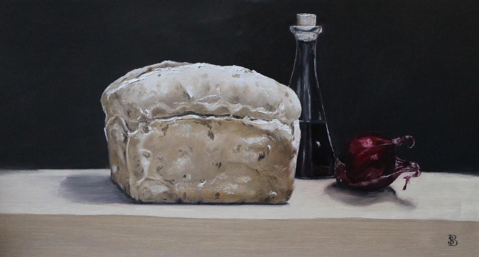 Loaf of Bread Balsamic Vinegar & Onion