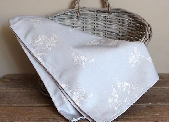 Guinea Fowl Tea Towel (Trade)