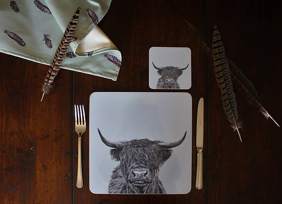 Highland Cow Placemats (Trade)
