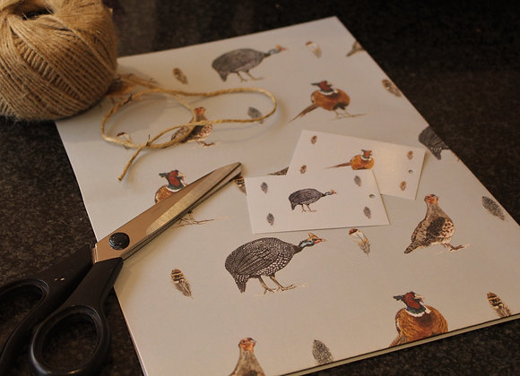 Game Bird Wrapping Paper (Trade)
