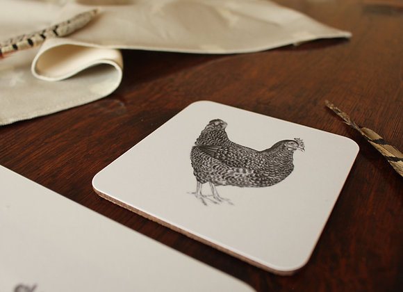 Chicken Coasters (Trade)